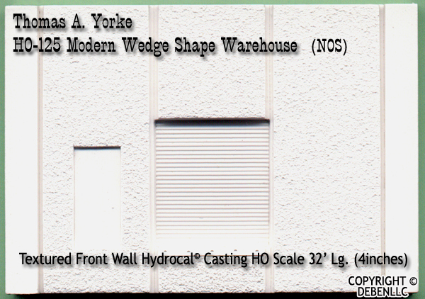 Refrig Produce/Office Warehouse Kit Yorke HOn3/HOn2 NOS