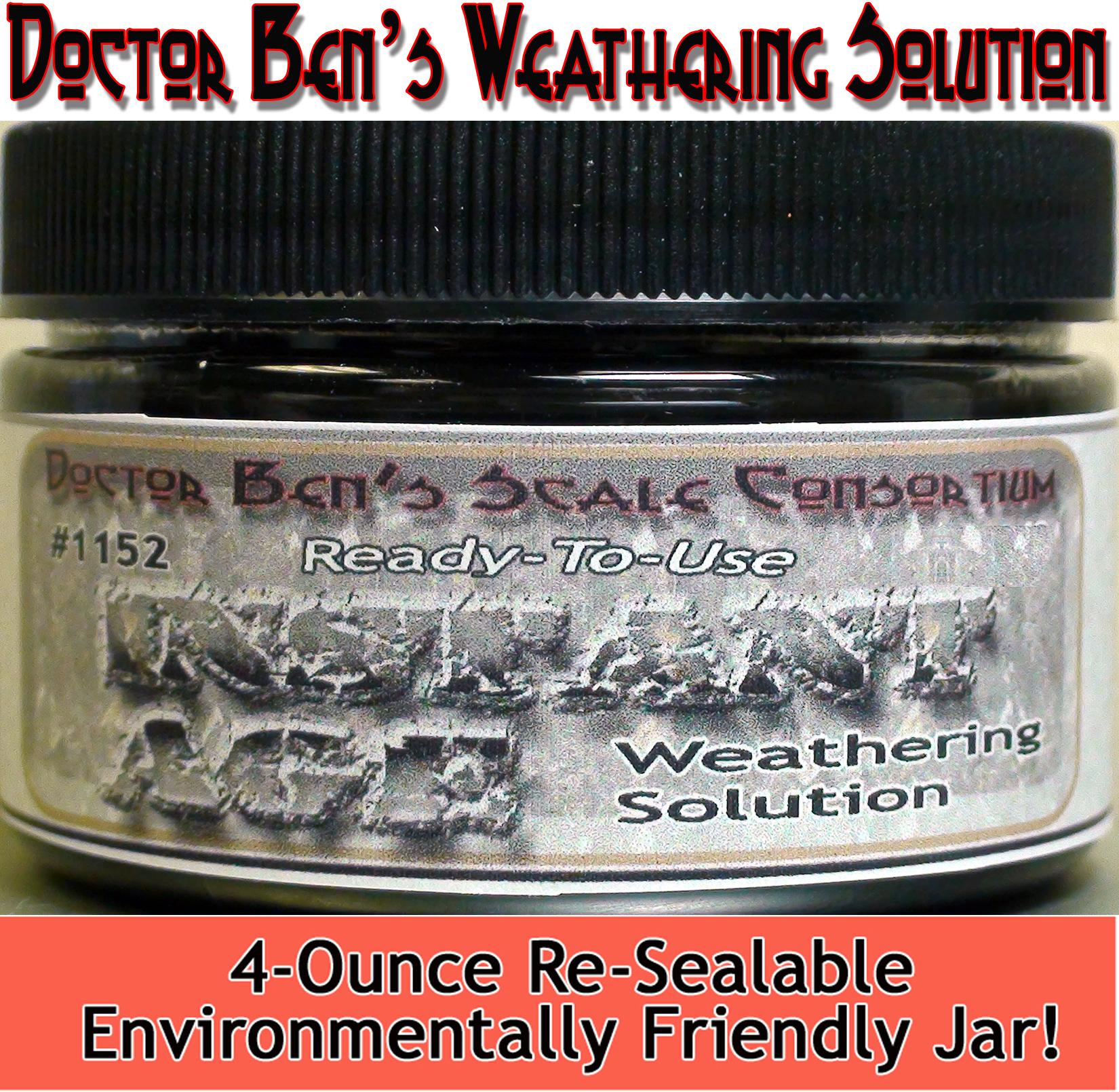 DBZ1152 - Doctor Ben's Weathering Solution