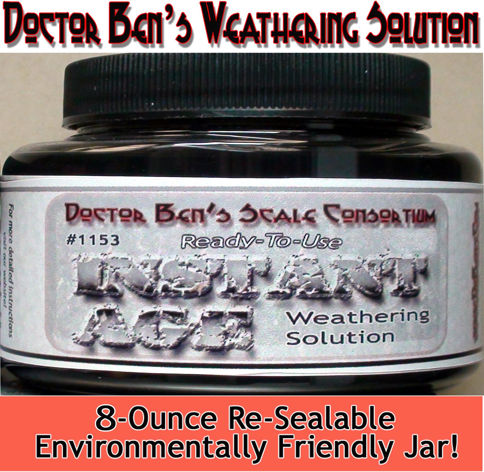 DBZ1153 - Doctor Ben's Weathering Solution