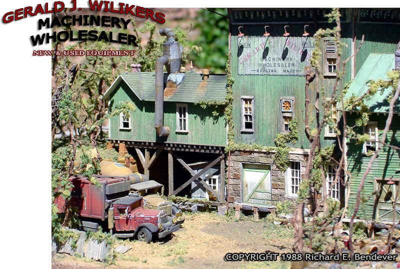 Gerard J. Wilikers Machinery Wholesaler -- HO/HOn3 Scale