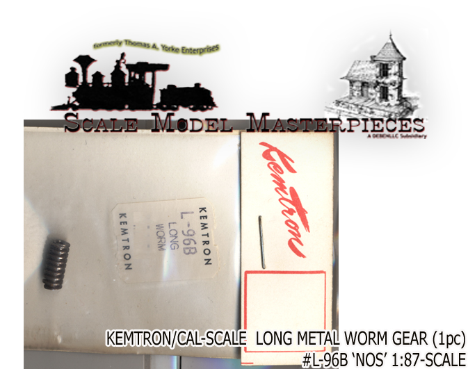 Metal Gear Long Worm L-96B NOS KEMTRON CAL_SCALE HO