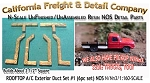 ROOFTOP A/C Exterior Duct Set #1 (6pc set) N/Nn3/1:160-Scale California Freight & Details Co.