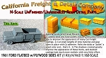 1961 FORD FLATBED PICKUP w/PLYWOOD SIDES KIT (1 Kit) N/Nn3-CAL FREIGHT