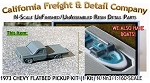 1973 CHEVY FLATBED PICKUP KIT (1 Kit) N/Nn3-Scale CAL FREIGHT & DETAILS