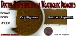 Brown Brick Weathering Pigment-2oz Doctor Ben's Scale Consortium