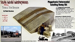 Piggyback/Intermodal Loading Concrete Yard Ramp Kit (5pcs) SMM-N/NN3 *NEW*