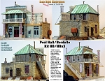 Bordello & Pool Hall Kit Scale Model Masterpieces / Thomas Yorke HO/1:87 *BRAND NEW*