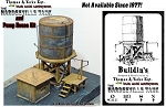 *Built Up* Argent Lumber/ Hardeeville Water Tank & Pump House Mini-Diorama Scale Model Masterpieces1:48/O