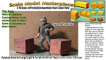 Palleted Bricks/Cinder Blocks-Large (2pcs) Scale Model Masterpieces O/On3/On30/1:48 *NEW*