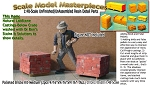 Palleted Bricks/Cinder Blocks-Medium(2pcs) Scale Model Masterpieces O/On3/On30/1:48 *NEW*
