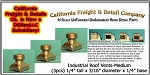 Industrial Roof Vents-Medium (3pcs) N/Nn3/1:160-Scale California Freight & Details Co