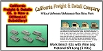 Work Benches w/Wire Leg Material-6ft Long (6 Kits) California Freight & Details Co. N/Nn3/1;160