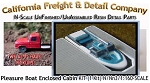 PLEASURE BOAT w/OPEN SEATING (1 Kit) N/Nn3-Scale CAL FREIGHT & DETAIL CO