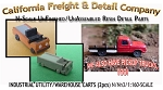 Industrial Warehouse/Utility/Golf Cart Kits (2kits) N/Nn3/1:160-Scale CAL FREIGHT *NEW*