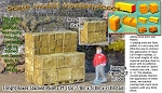 Freight Boxes-Stacked Pallets #1 (1pc) N/Nn3/1:160 California Freight & Details Co.