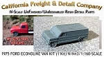 1975 Ford Econoline Van Kit (1 Kit) California Freight & Details Co N/Nn3