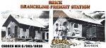 THE BRANCHLINE BRICK FREIGHT STATION NOS KIT CHOOCH MIB O/ON3/ON30 NOS