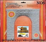 SINGLE TRACK CUT STONE TUNNEL PORTAL CHOOCH ENTERPRISES NOS O/1:48