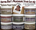 Weathering Stain Set #2 & Booklet #2 & #5530 Junk Pile-Doctor Ben's