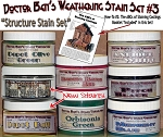 Weathering Stain Set #3 & Booklet #2 & #5533 Junk Pile-Doctor Ben's