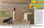 Vertical Boiler & Water Tank Miniature Scene Kit Scale Model Masterpieces-N/NN3 *NEW*