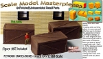 Plywood/Wooden Crates-XXLarge (3pcs) Scale Model Masterpieces N/Nn3/1:160