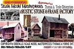 the Rustic Stone & Frame Factory Kit HO/HOn3 Scale Model Masterpieces/Yorke