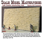 Split Granite Stone Wall-Interlocking Scale Model Masterpieces HO/HOn3/On30