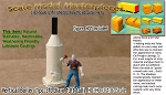 Vertical Boiler (1pc-3ft diameter x 13ft tall) Scale Model Masterpieces-HO/HOn3/HOn30