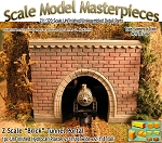 "Z Scale ""Brick"" Tunnel Portal &"