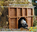 Z Scale Wood Timber Tunnel Portal & Optional Retaining Walls Scale Model Masterpieces 1/220