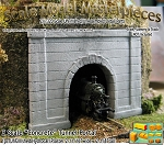 Z Scale Formed Concrete Tunnel Portal Optional Retaining Walls Scale Model Masterpieces 1/220