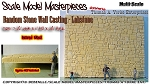 Random Stone Wall Scale Model Masterpieces/Yorke LABSTONE Multi-Scale
