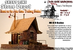 Short Line Stone Depot Kit YORKE/Scale Model Masterpieces HO/1;87 *Brand NEW*