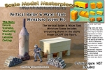 Vertical Boiler & Water Tank Miniature Scene Kit O/On3/On30-Scale Model Masterpieces