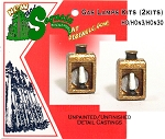 Depot/Station Gas Lamps Kits (2kits) /HOn3/HOn30 Sequoia Models