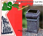 D&RGW Brick Chimney (Large-1pc) - HO/HOn3 Sequoia Models