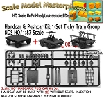 Handcar & Pushcar Kit 1-Set/Kit NOS Tichy Train Miniatures HO/HOn3/HOn30 /1:87