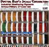 Doctor Ben's Industrial Weathering Pigment 27 Color Armour Pack