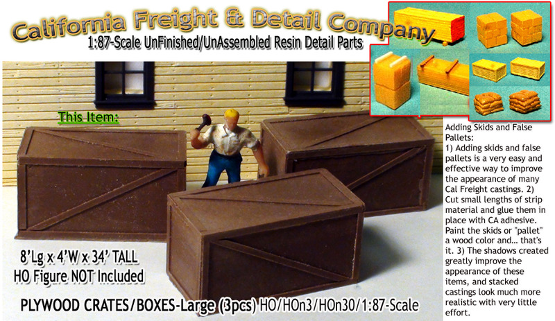 California Freight & Details Co-HO is Now Scale Model masterpieces!