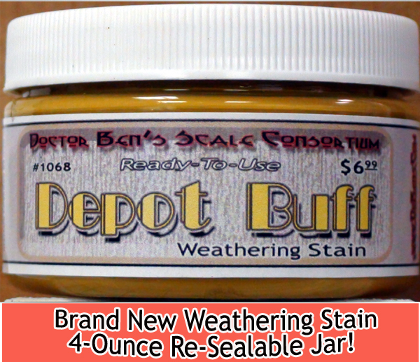 BRAND NEW DOCTOR BEN'S WEATHERING STAINS!