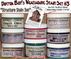 Weathering Stain Set #3-DOCTOR BEN'S 8-COLOR READY-TO-USE FLOQUIL REPLACEMENTS!