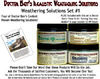 4-JAR WEATHERING SOLUTION SET #1 w/HOW-TO BOOK-DOCTOR BEN'S READY-TO-USE *NEW*