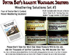 4-JAR WEATHERING SOLUTION SET #3 w/HOW-TO BOOK-DOCTOR BEN'S READY-TO-USE *NEW*