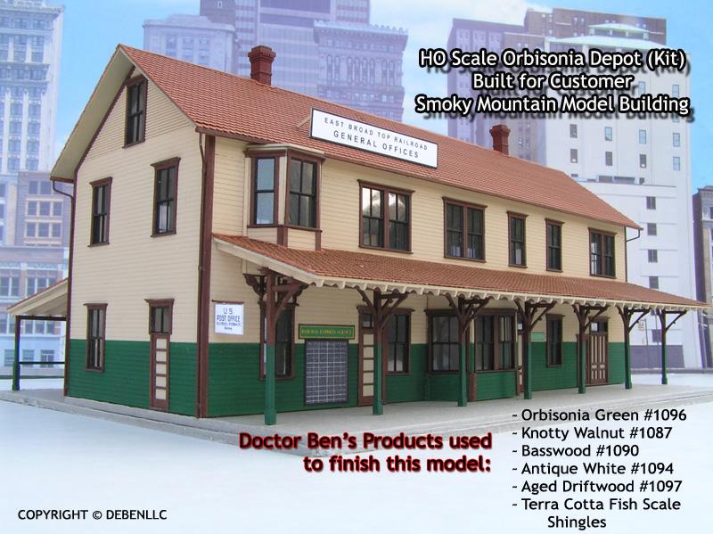 Orbisonia Depot-East Broad Top Railroad Built HO/HOn3 Scale
