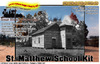 ST. MATTHEW's SCHOOL HOUSE KIT HISTORICAL/PROTOTYPE SMM/TOM YORKE HO/HON3O *NEW*
