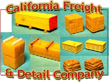 Scale Model Masterpieces /Cal Freight & Details Co.: HO Scale Product List