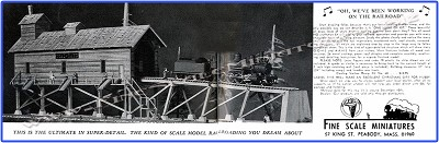 Fine Scale Miniatures #060  Elevated Coaling Station