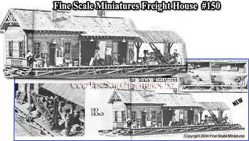 Fine Scale Miniatures #150  Freight House