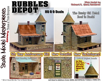 RUBBLES DEPOT STANDING SEAM COPPER ROOF/CORBEL/EAVE Section YORKE/ON3/ON30
